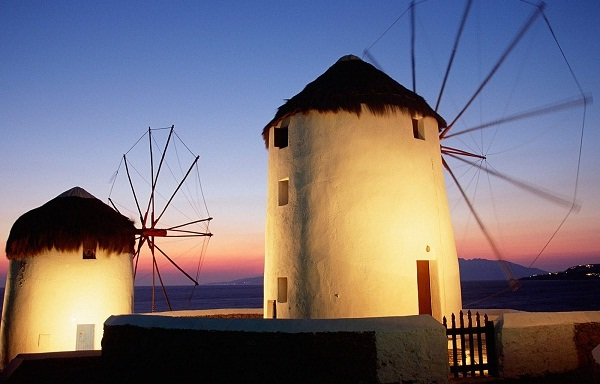 Mykonos-Windmills-Greece