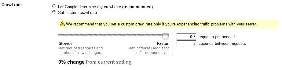 crawl-rate