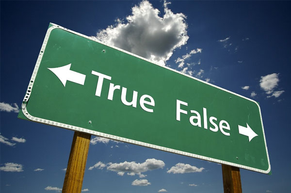True False Sign as it Relates to SEO