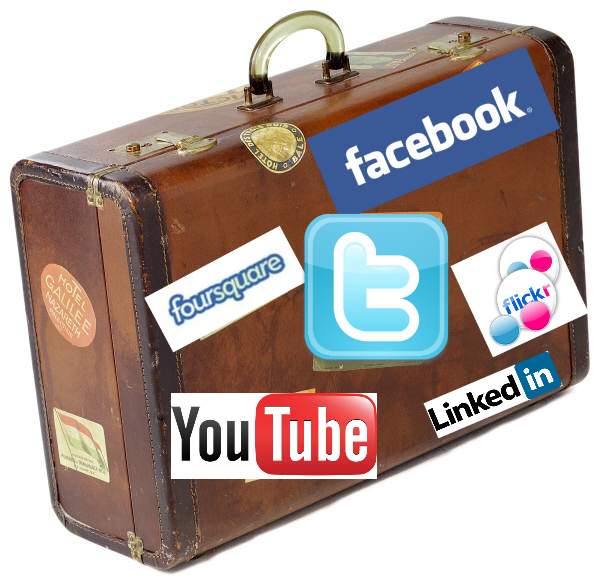 social media tourism graphic