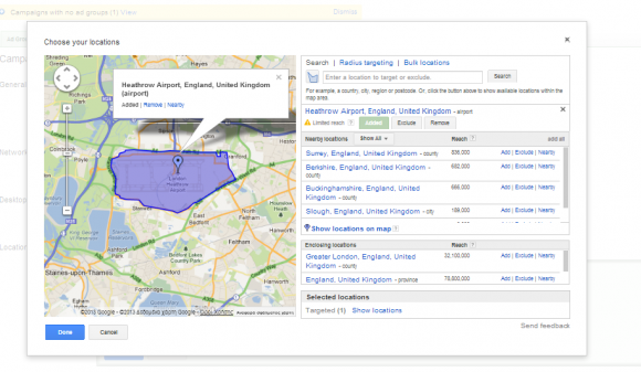 adwords-location