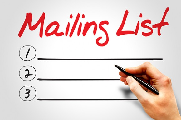 emailing list